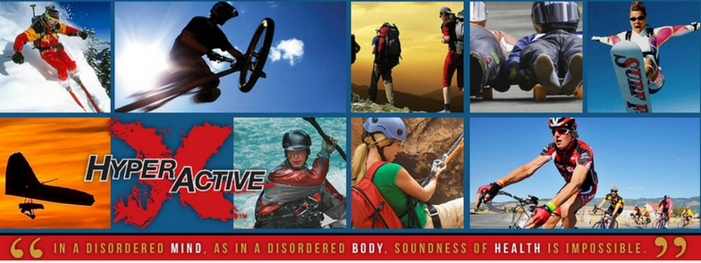ExtraHyperActive is an active lifestyle brand